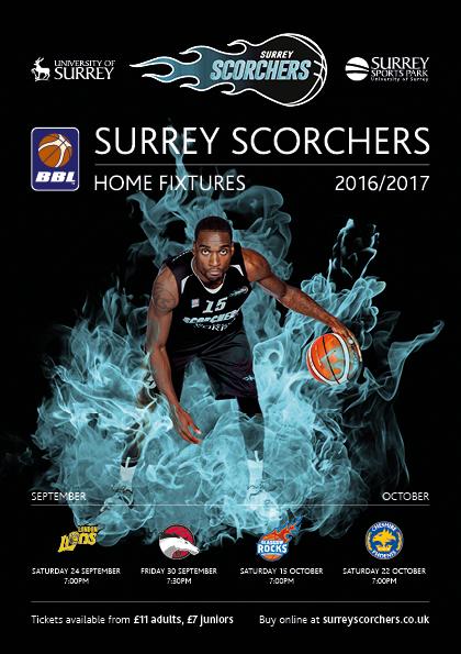 SSP Surrey Scorchers flyer