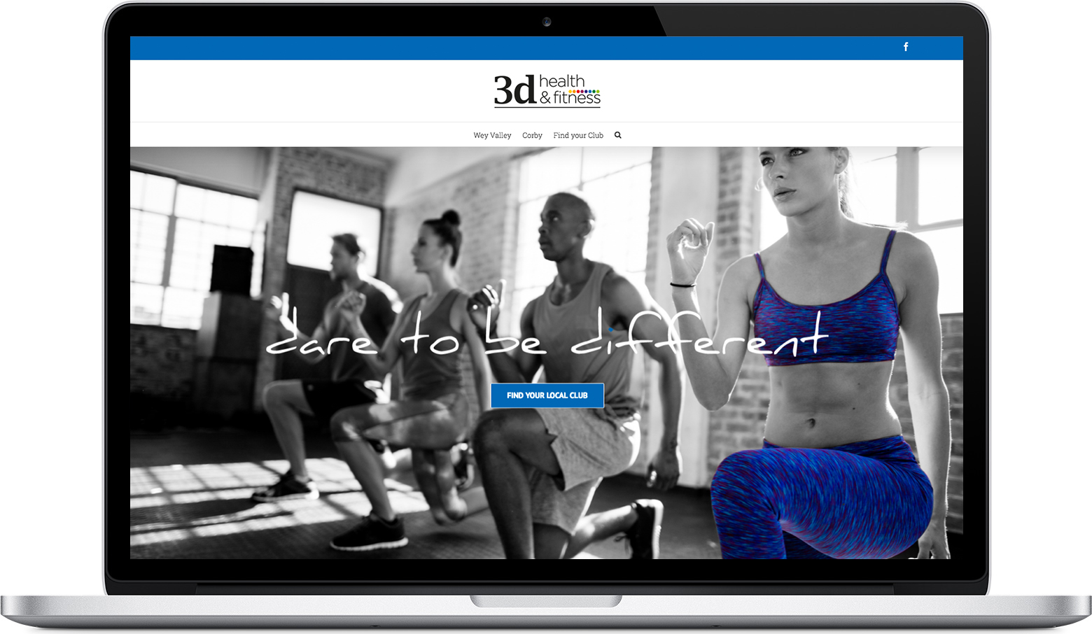 3dhealth & Fitness website